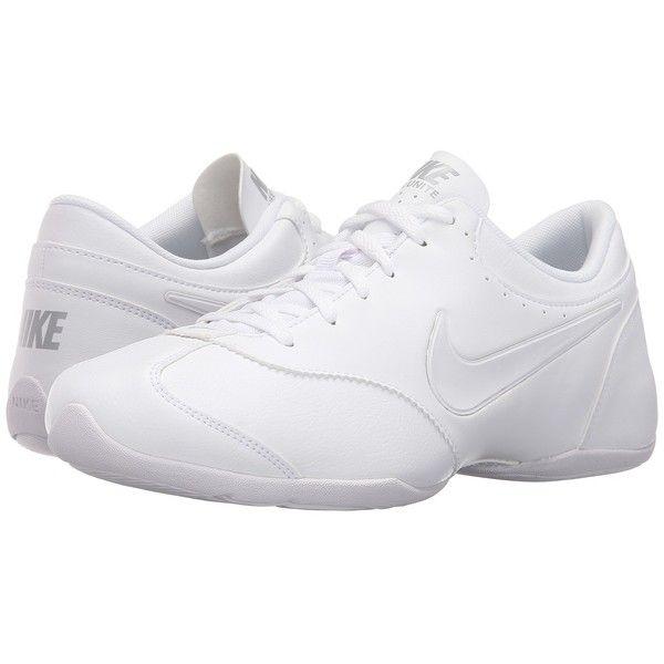 Nike Cheer Unite (White/Matte Silver/White) Women's Cross Training.
