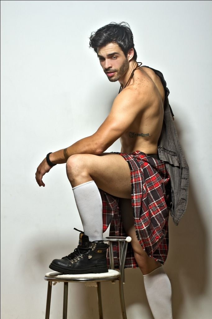 Image result for hot kilted man