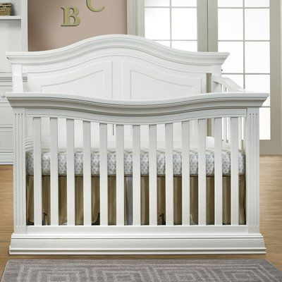 Mia 4-in-1 Convertible Crib | Cribs, Convertible crib ...