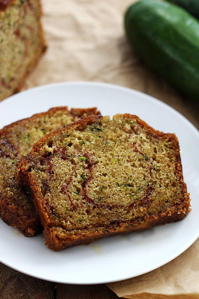 Cinnamon Swirl Zucchini Bread Recipe Food Pinterest Zucchini