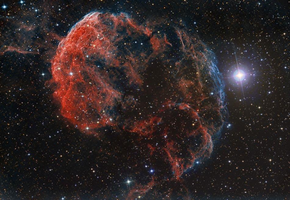 the jelly fish nebulsa /La Nebulosa Medusa #buongiorno #twitter