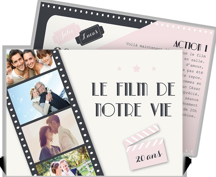 Invitation Anniversaire De Mariage Pour Fêter Vos 20 Ans D
