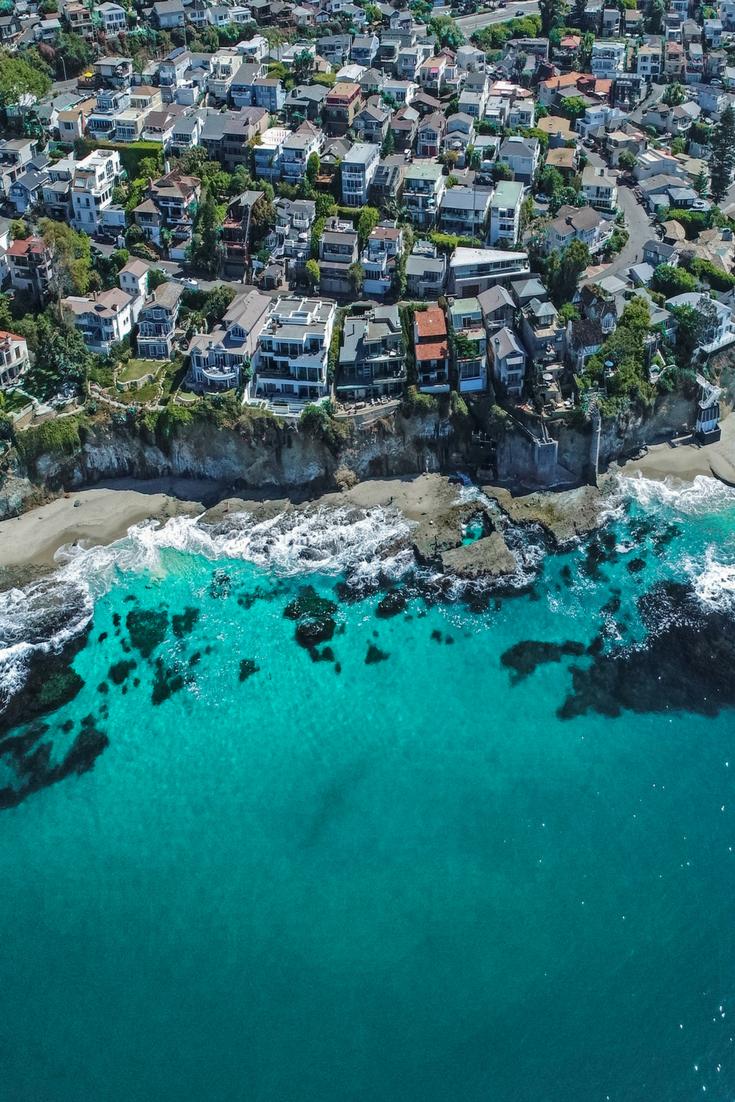 Laguna Beach Drone Shot by IG ashxvisuals Aerial