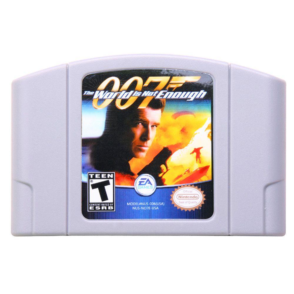 007 The World Is Not Enough Nintendo N64 Us Version Nintendo N64