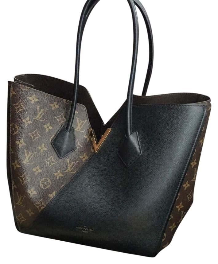 Louis Vuitton Kimono & Matching Wallet In Noir Black Tote Bag. Get one of the hottest styles of the season! The Louis Vuitton Kimono & Matching Wallet In Noir Black Tote Bag is a top 10 member favorite on Tradesy. Save on yours before they're sold out!