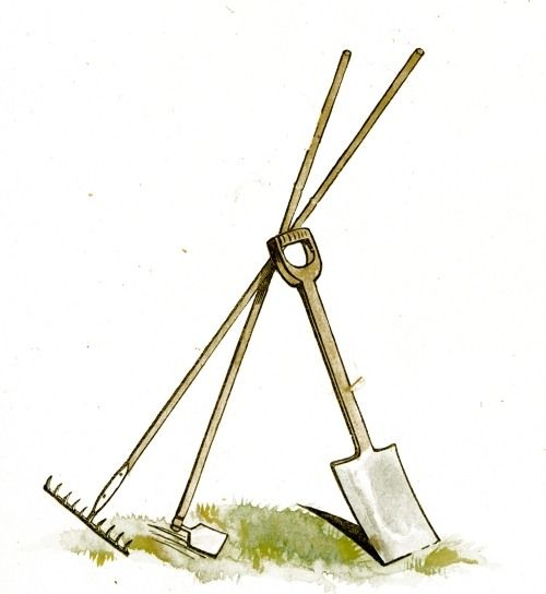 Landscaping Tools Clipart Twice Sale