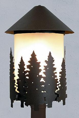 Vista Pine Tree Ext. Post Lantern