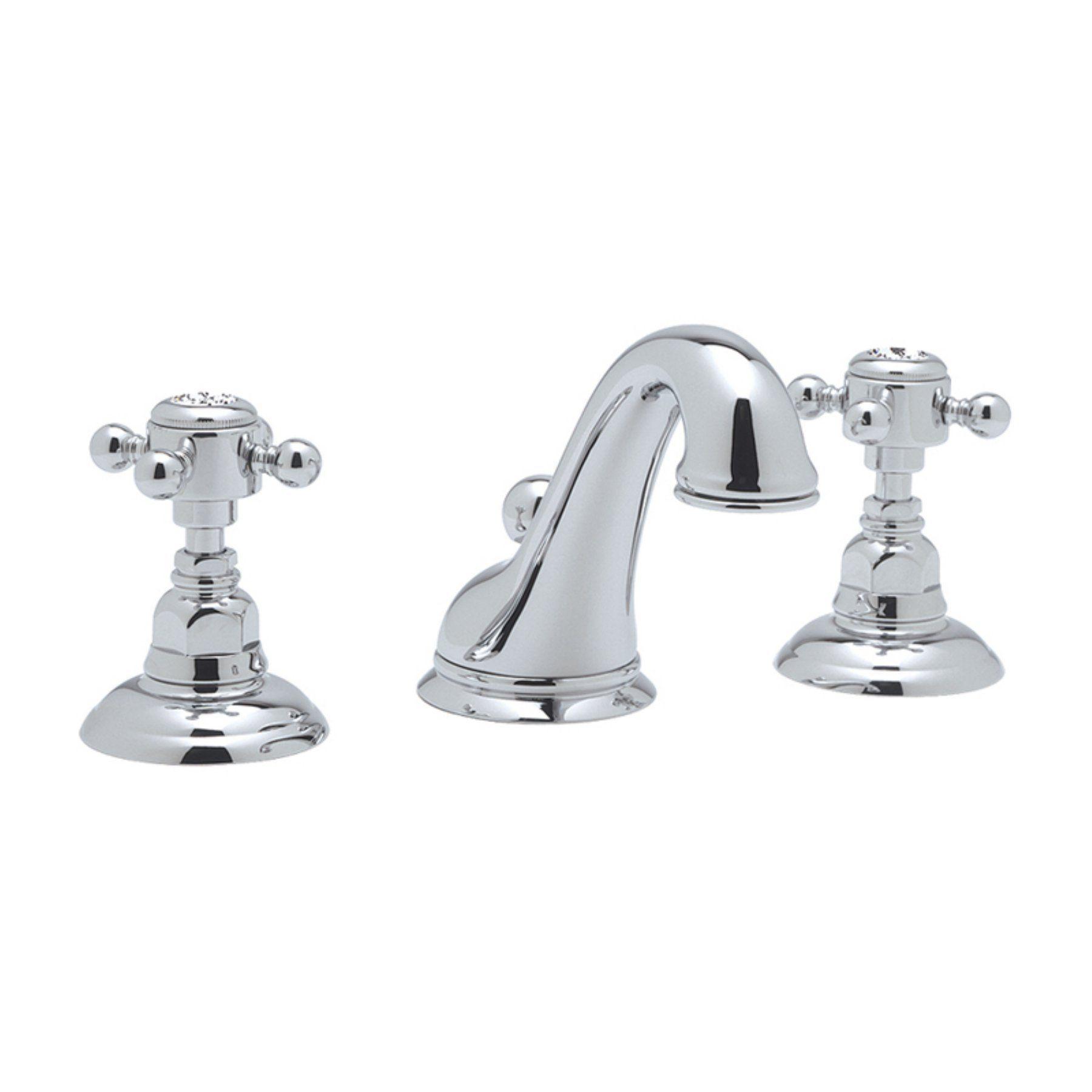 Rohl Country Bath Viaggio A1408-2 Widespread Bathroom Faucet with ...