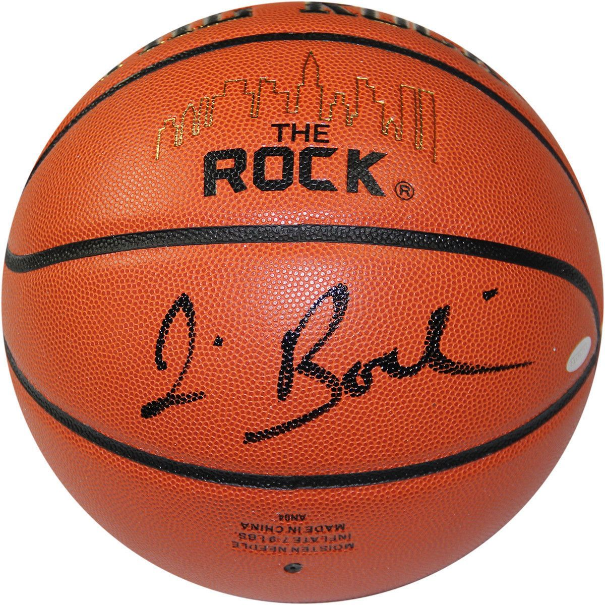Jim Boeheim Signed The Rock Game Model Basketball Ncaa