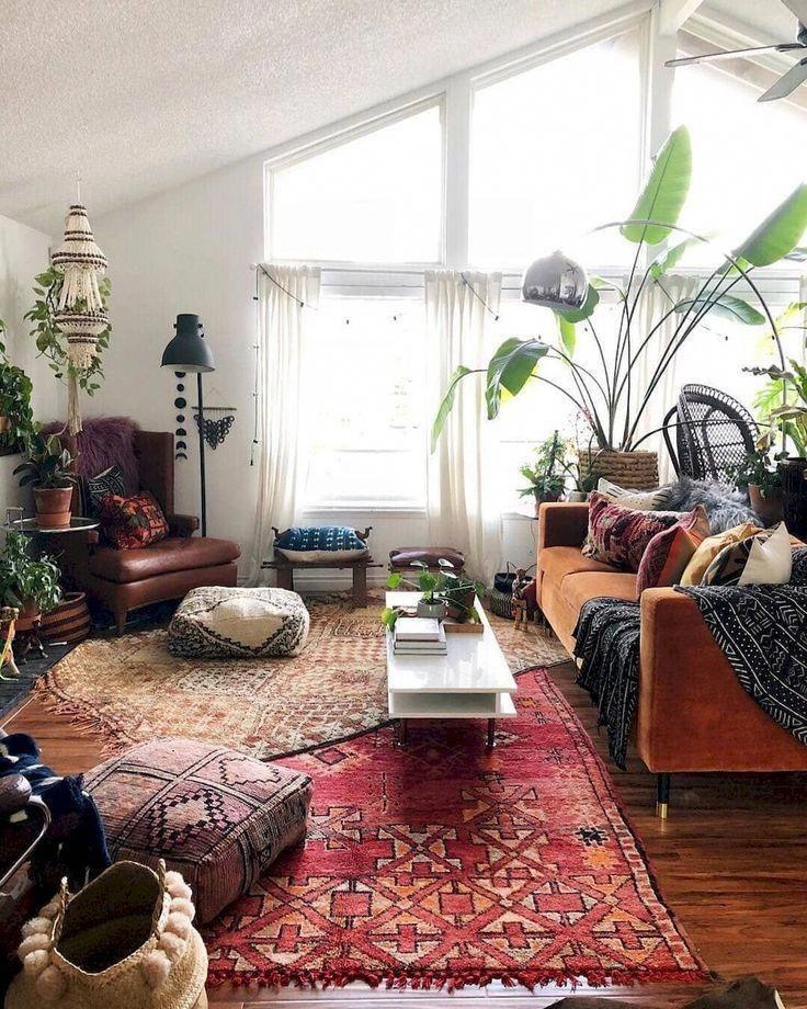 Photo of 70 leilighet stue dekorasjonsideer – #smalllivingroomideas #boholivingroo …