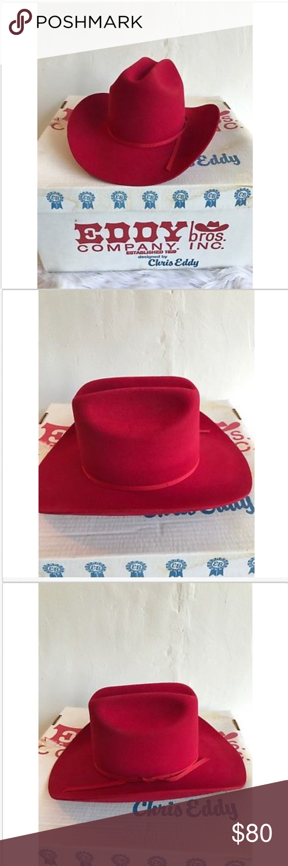 1e7ed9a8da5 Eddy Bros Women s Cowboy Hat XX Fur Blend Wool Eddy Bros Women s Cowboy Hat  XX Fur
