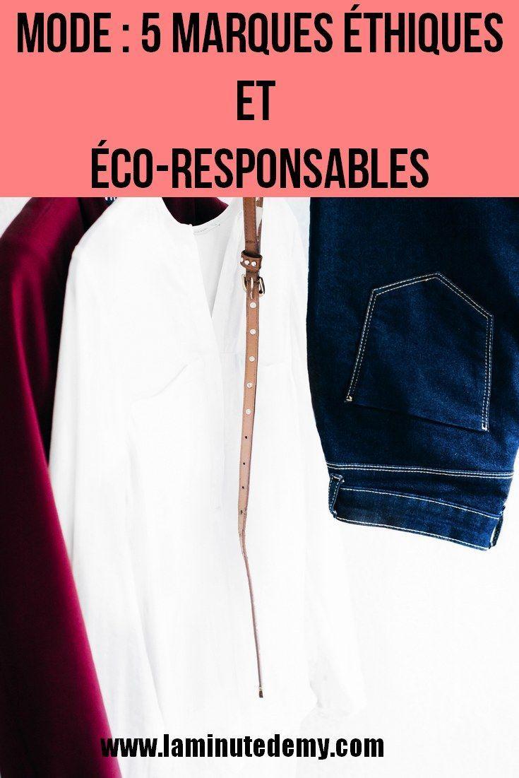 Mode : 5 marques éthiques et éco-responsables – La Minute dEmy Blog Lifestyle