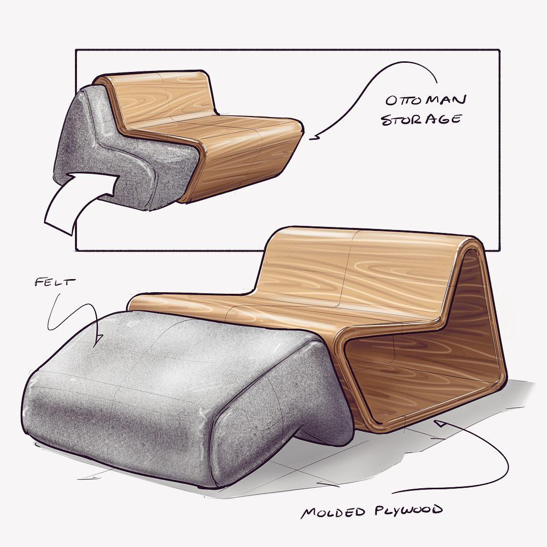 Ce designer redouble de créativité pour imaginer des fauteuils toujours plus insolites