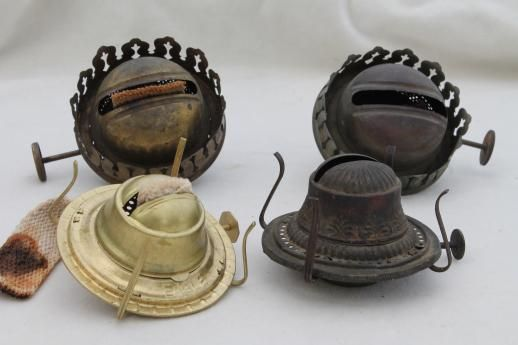 Old oil kerosene lamp parts burner lamp wick assemblies vintage old oil kerosene lamp parts burner lamp wick assemblies vintage oil lamp burners mozeypictures Image collections