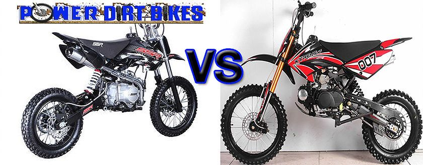 Ssr Vs Apollo Pit Bikes Www Powerdirtbikes Com With Images