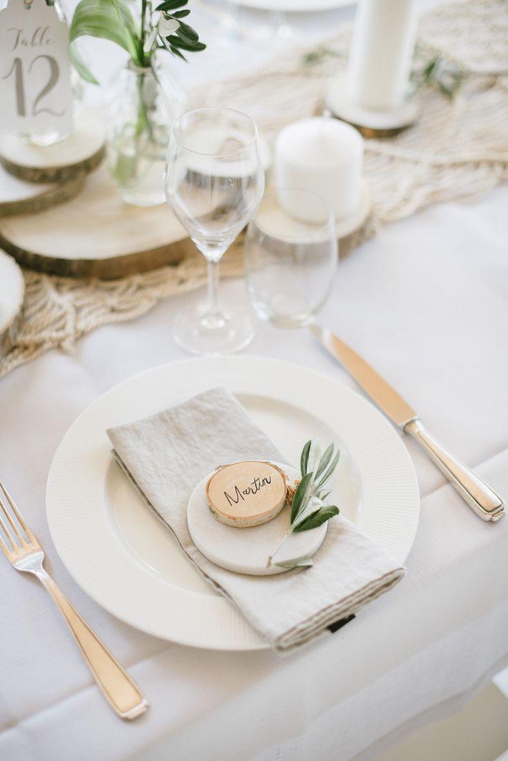 6 kleine holzscheiben fr ulein k sagt ja partyshop floral table designs boho hochzeit. Black Bedroom Furniture Sets. Home Design Ideas