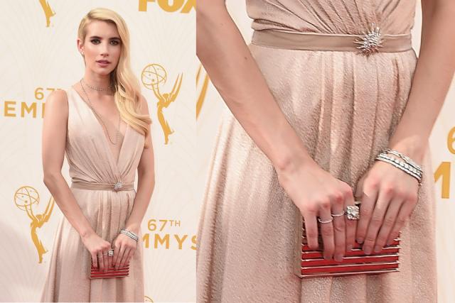 Emmy Awards: Best in Jewelry: Emma Roberts