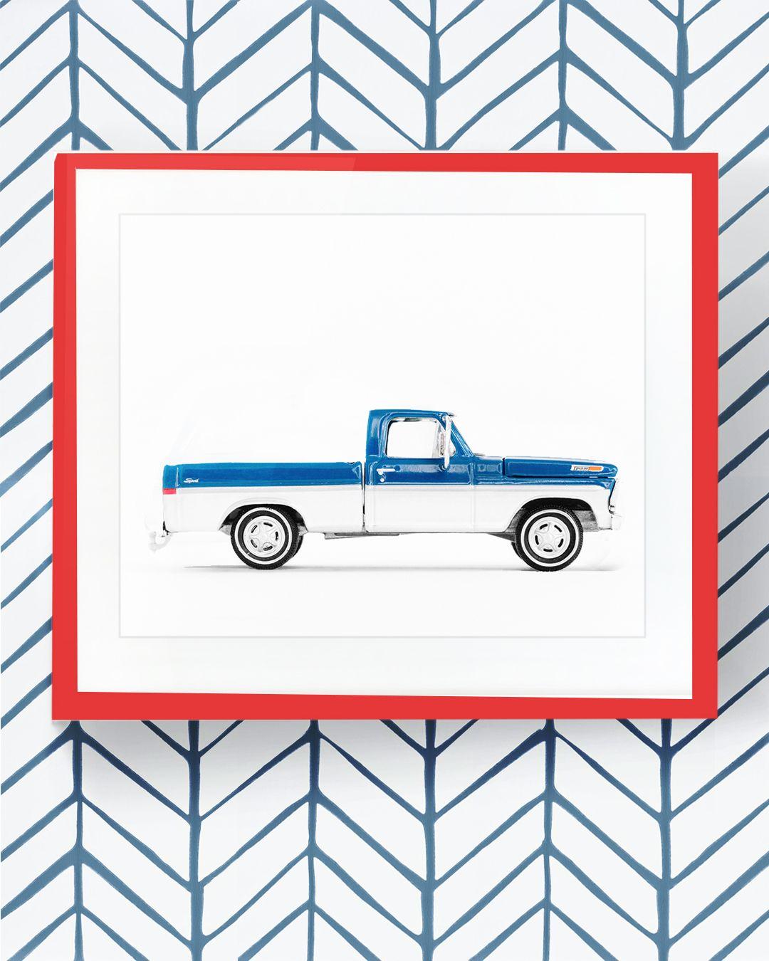 Truck Print From Lesleemitchellart Com Car Prints Modern