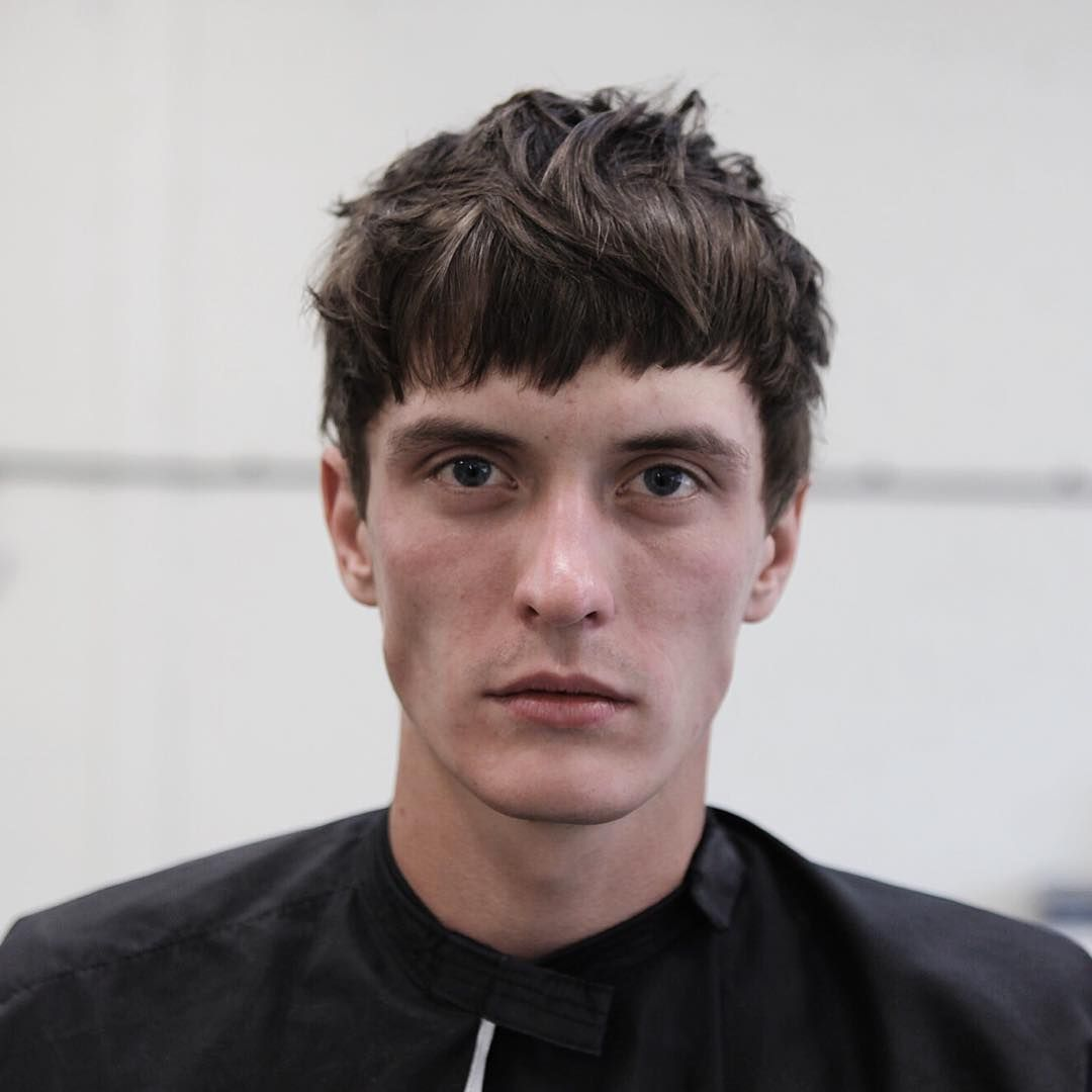 Bowl cut haircut men using common sense being aware of texture face shape as well as