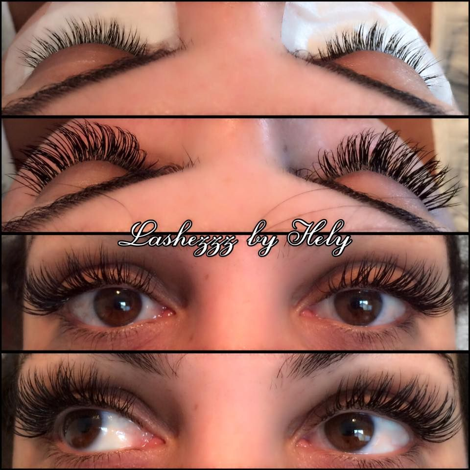 Another Beautiful Set Lash Extensions So Easy Fuss Free So