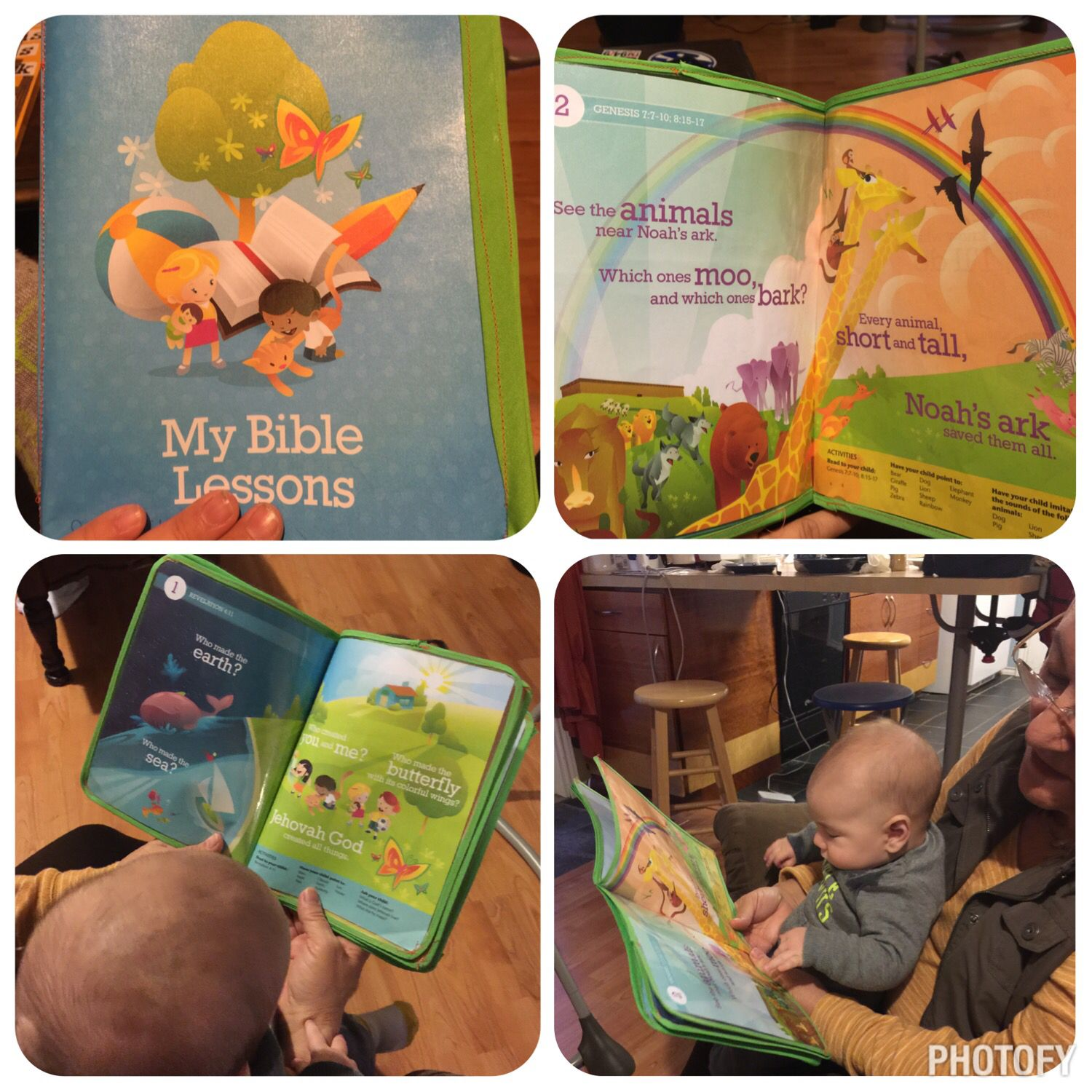 Laminated My Bible Lessons For Silas I Took The Brochure Apart Into 4 Long Pages Apply
