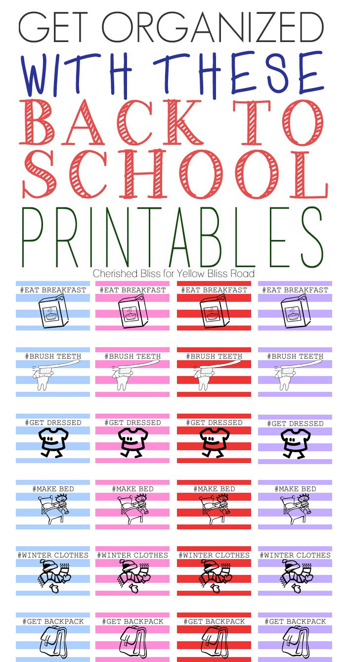 Back to School Free Printable   Free printables, School and Free