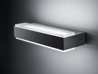Applique led esterno cheap faretto applique led per uso esterno