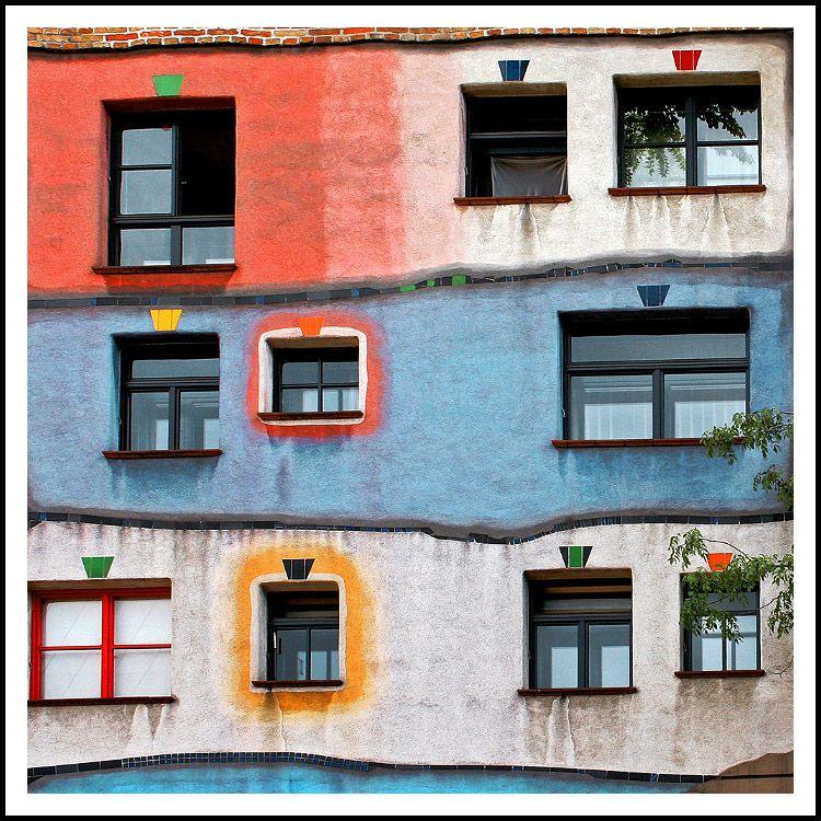 facade Hundertwasser