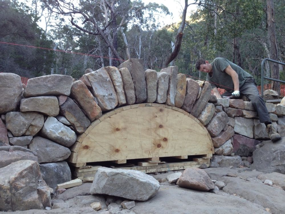 Image Result For How To Build Stone Bridge Over Creek Dry