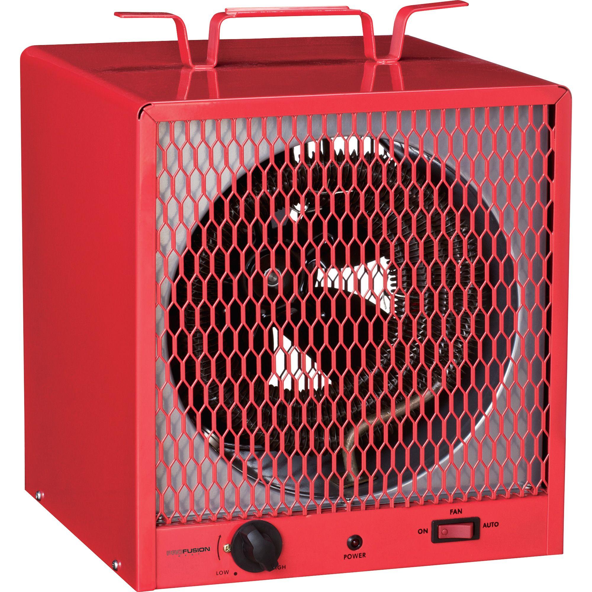 ProFusion Heat Industrial Fan-Forced Heater 5,600 Watts ...
