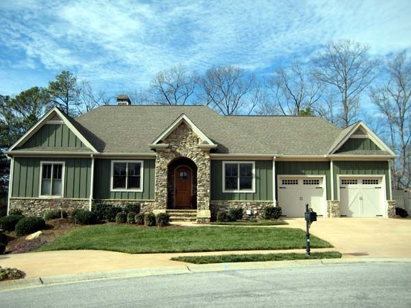 board and batten vinyl siding | House Plan 50244 at FamilyHomePlans ...