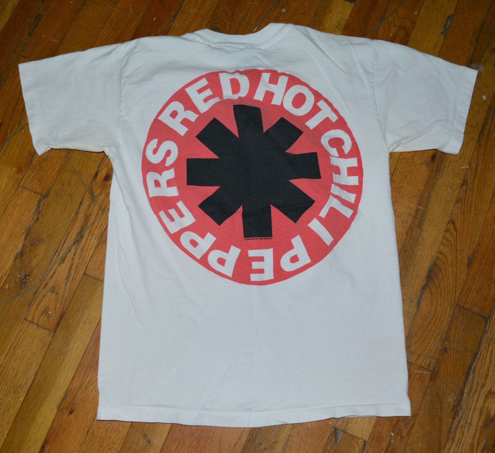 1744db1f RaRe *1990 RED HOT CHILI PEPPERS* vtg rock concert tour shirt M/L 80's 90's  RHCP | eBay