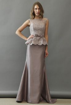 Brides: Noir by Lazaro - Fall 2012 | Bridal Runway Shows | Wedding Dresses and Style | Brides.com