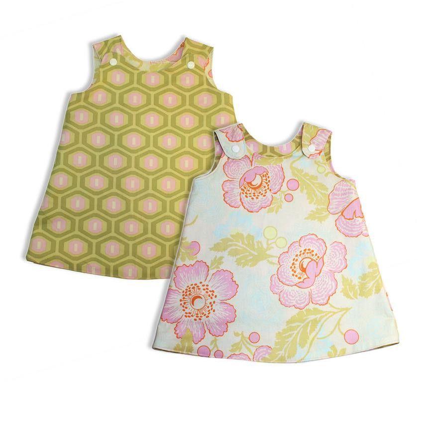 Reversible Baby Jumper Sewing Pattern | Baby jumper, Dress patterns ...
