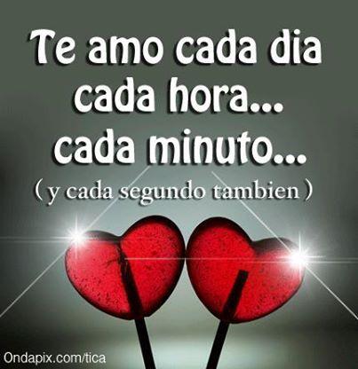 Frases De Amor Cada Dia Te Amo Mas Las Manos Pinterest