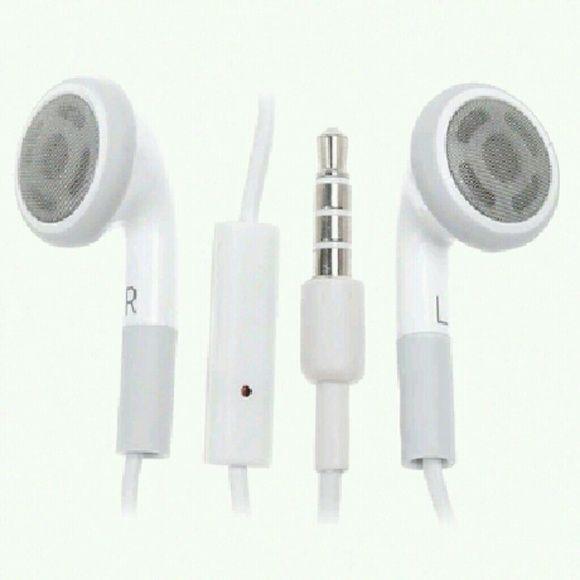 Earphones With Mic Apple Earphones Iphone Glitch Phone Case Accessories