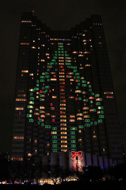 Christmas Tree in Tokyo #Tokyo #Japan