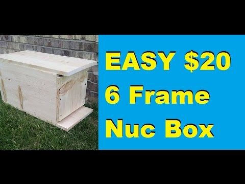 How to Make a Simple 6 Frame Nuc Box for $20 | Garden DIY