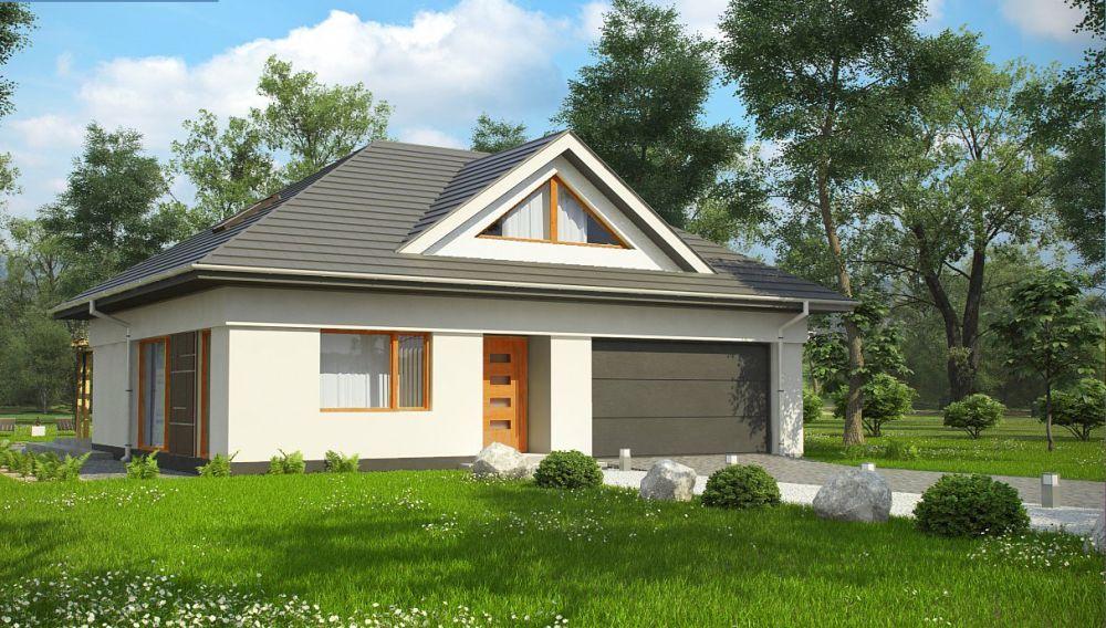 Proiecte Case Medii Cu Mansarda Si Garaj