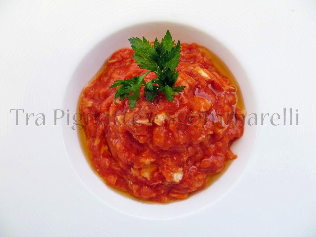 Le mie ricette - La pappa al pomodoro incontra il mare