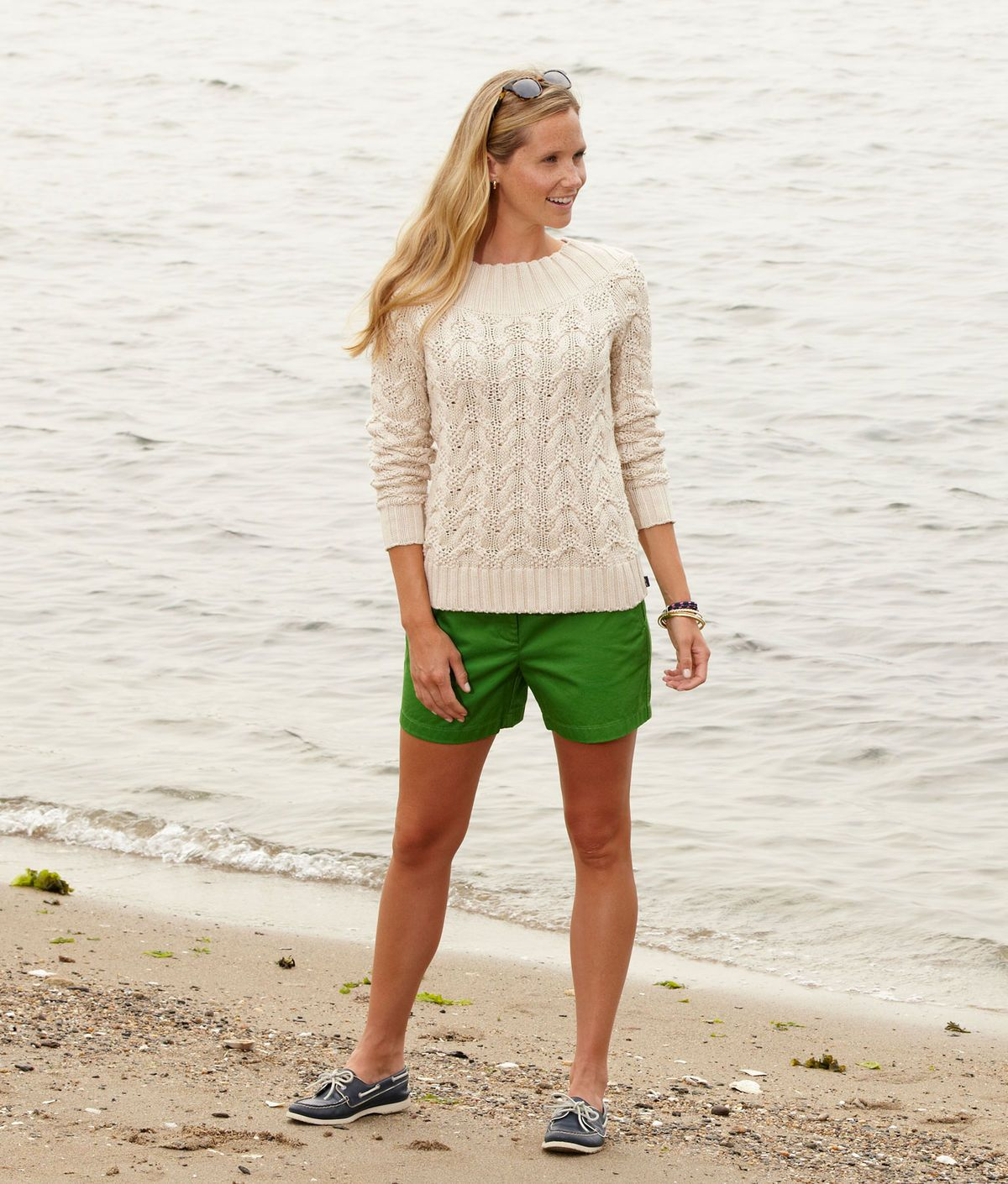 b2abbfff971 Vineyard Vines Hi Def Cable Sweater And Shorts