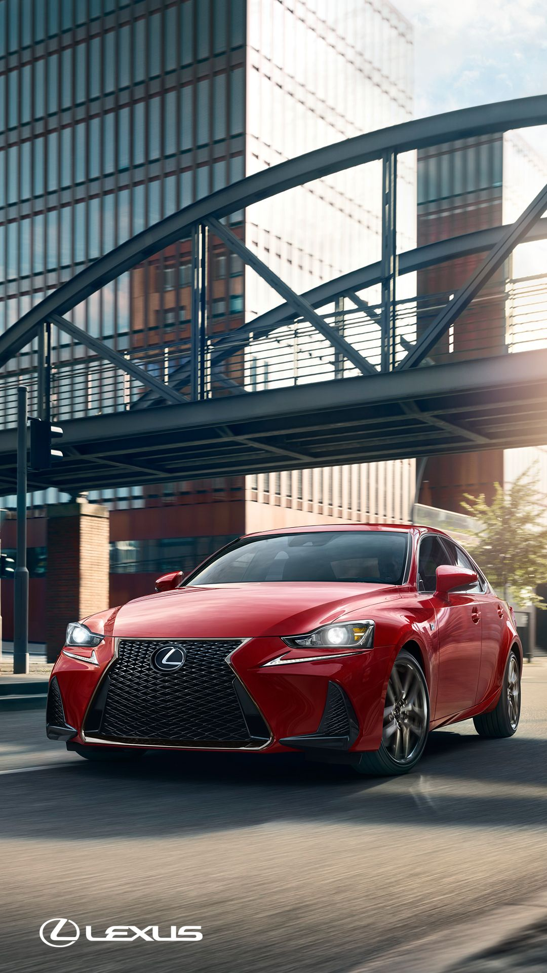 Devour The Road With An Exclusively Available Adaptive Variable Suspension.  The 2018 #LexusIS F