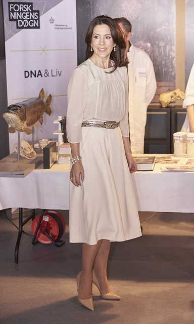 Princess Mary attended the opening of the 2016 Danish Research Festival