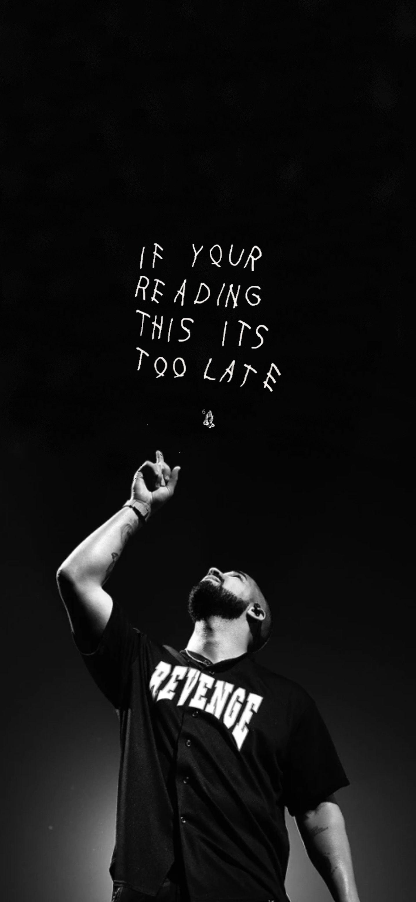 Drake Revenge/IYRTITL Wallpaper in 2020 Drake concert