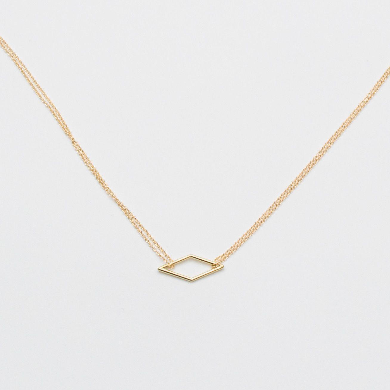 Adina reyter diamond necklace gold products pinterest