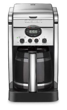 Amazon.com: Cuisinart DCC-2600CH Brew Central 14-Cup Programmable Coffeemaker with Glass Carafe, Polished Chrome: Kitchen & Dining