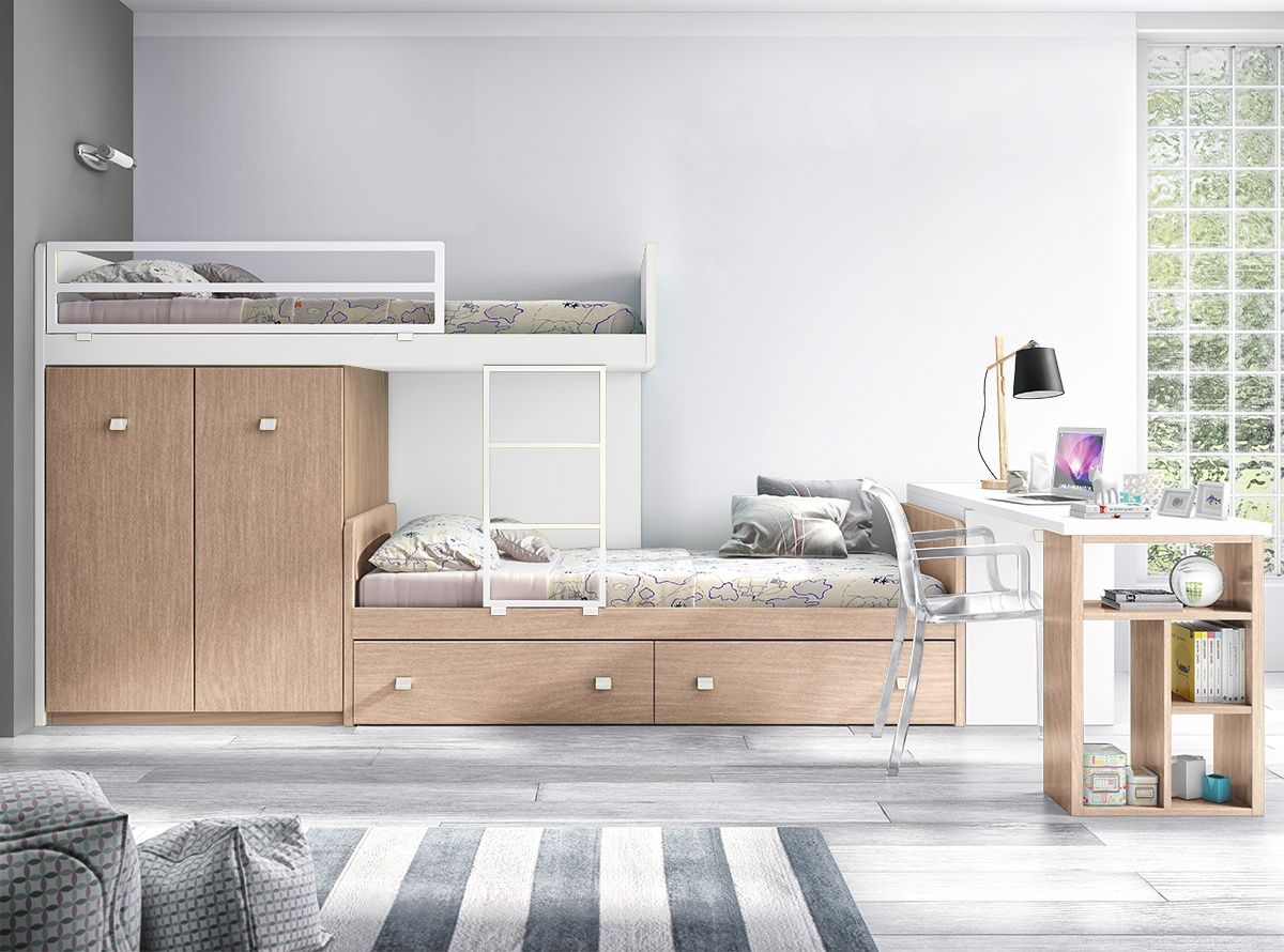 Dormitorio slate r dormitorios infantiles muebles la fabrica mobles pinterest slate - Dormitorios matrimonio muebles la fabrica ...