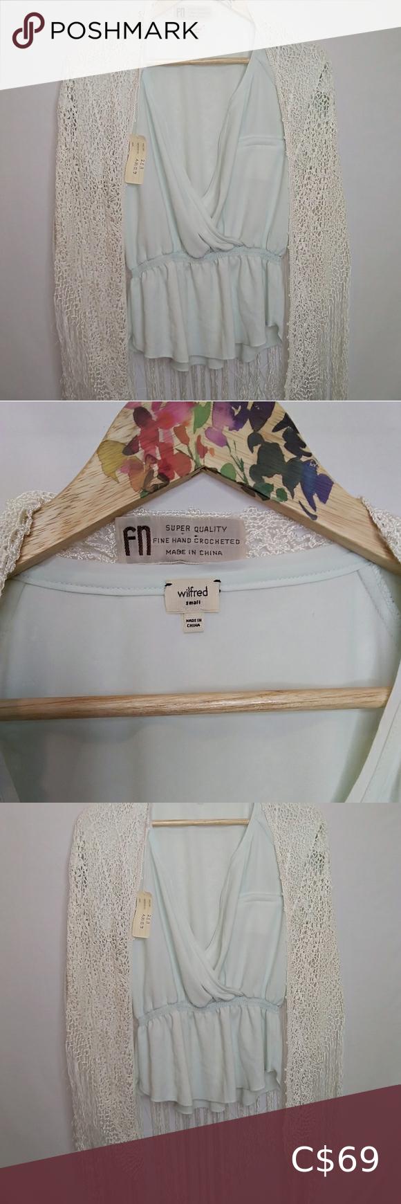 Imported Fine Hand Crochet Boho Wrap