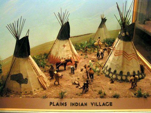 native american village | Native American Indians | Pinterest ...