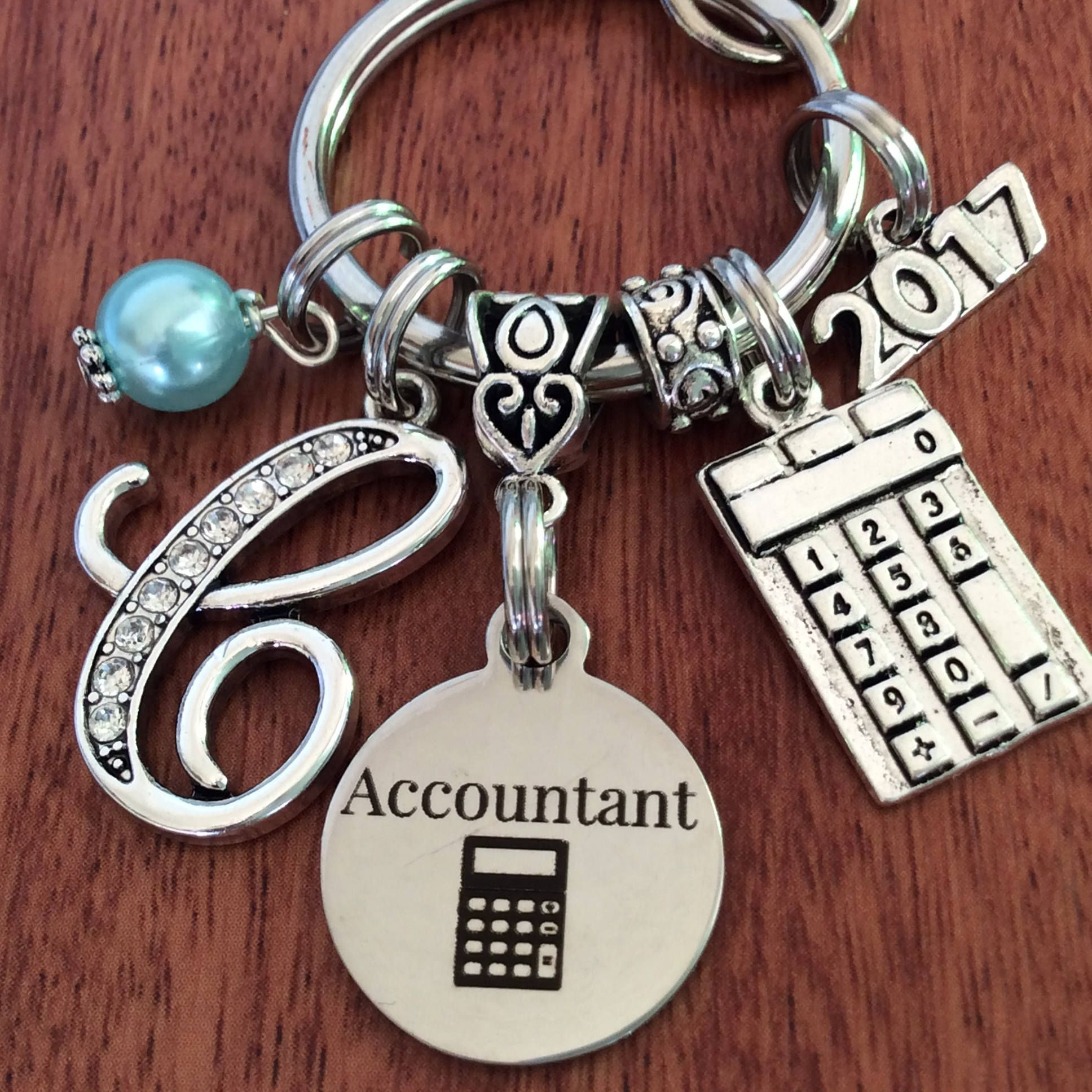 Accountant gift accountant keychain gifts for accountant